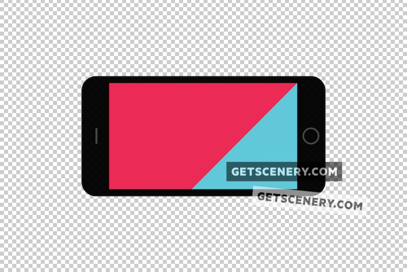 iPhone 6/6s Plus Mockup Template (Free Flat Design Pack)