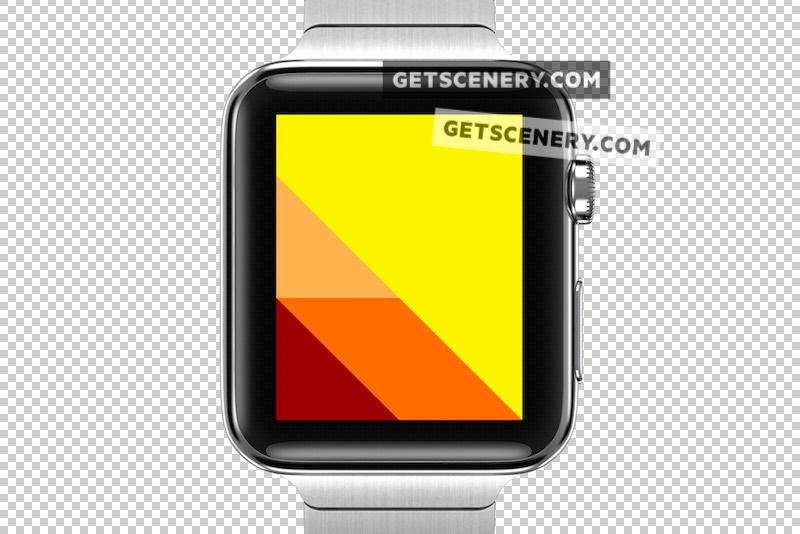 Apple Watch 42mm Mockup Template (Apple Watch Renders)