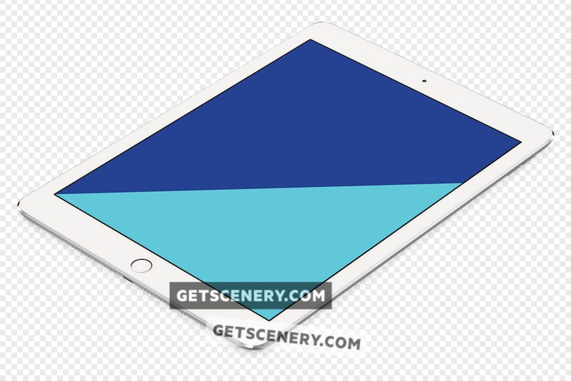 iPad Air Mockup Template (Apple Renders)
