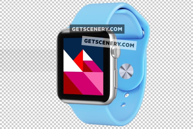 Apple Watch Sport 42mm Mockup Template (Apple Watch Renders)