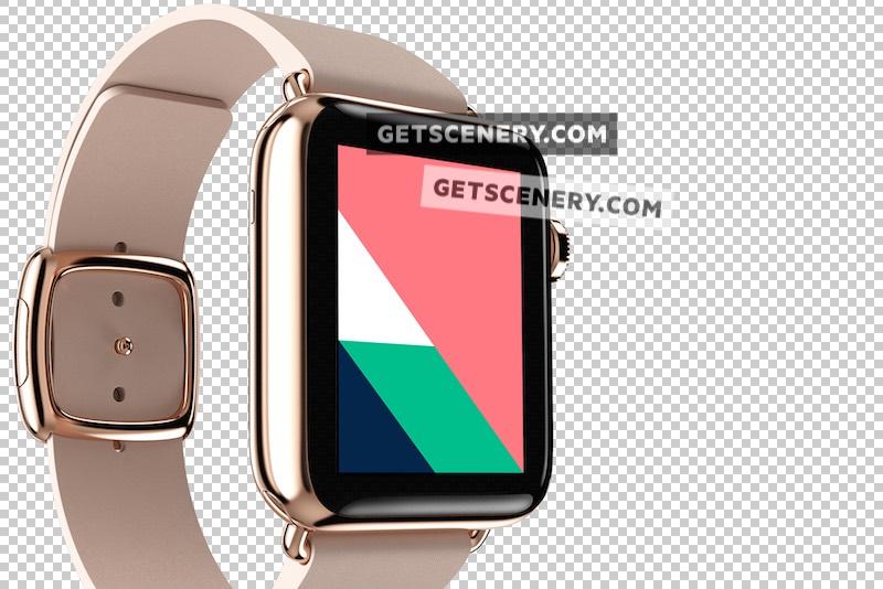 Apple Watch Edition 38mm Mockup Template (Apple Watch Renders)