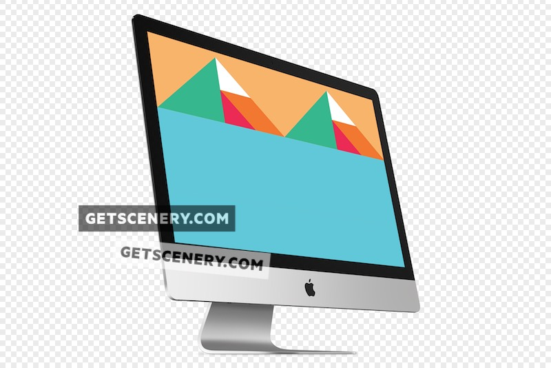 iMac Mockup Template (Apple Renders)